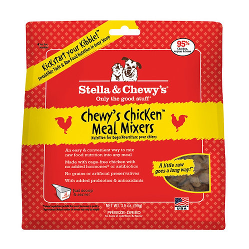 Stella & Chewy Freeze Dried Chicken Meal Mixers 9oz