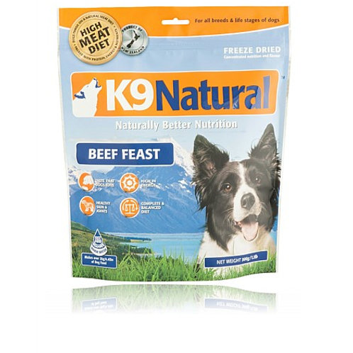 K9 Natural Freeze Dried Beef 500g