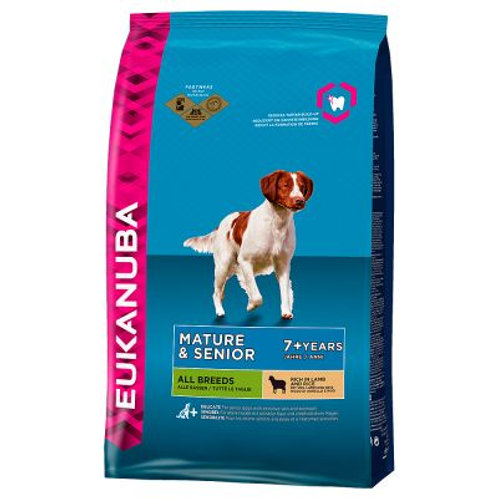 Eukanuba Senior Lamb & Rice 12kg