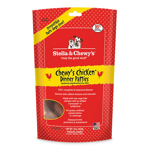 Stella & Chewy Freeze Dried Chewy Chicken Dinner 15oz