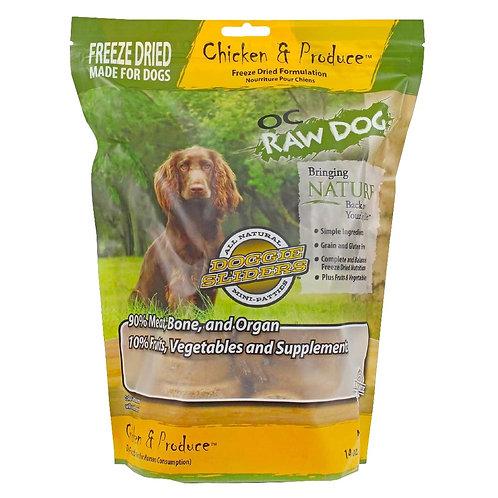 OC Raw Dog Freeze Dried Sliders 14oz