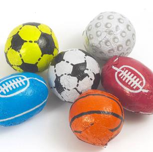 Chocolate Flavour Sports Balls