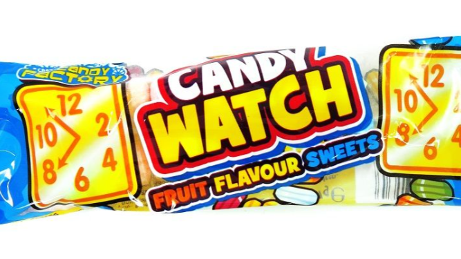 Crazy Candy Factory Candy Watches