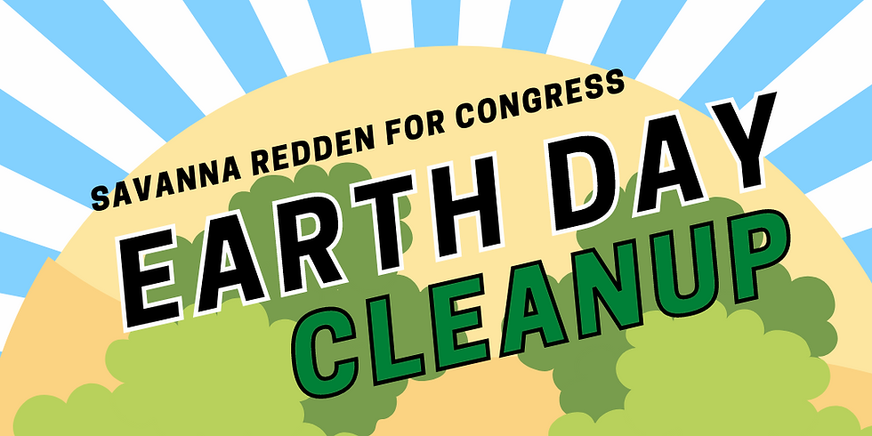 Earth Day Clean up of Faraday Rd. and Baltimore Ave.
