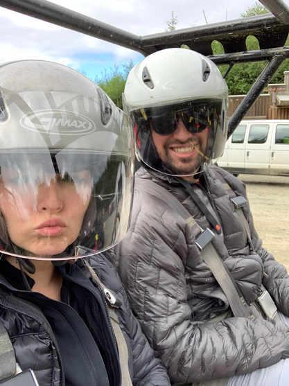 4 wheeling with Josh