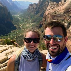 Savanna Redden Josh Hiking