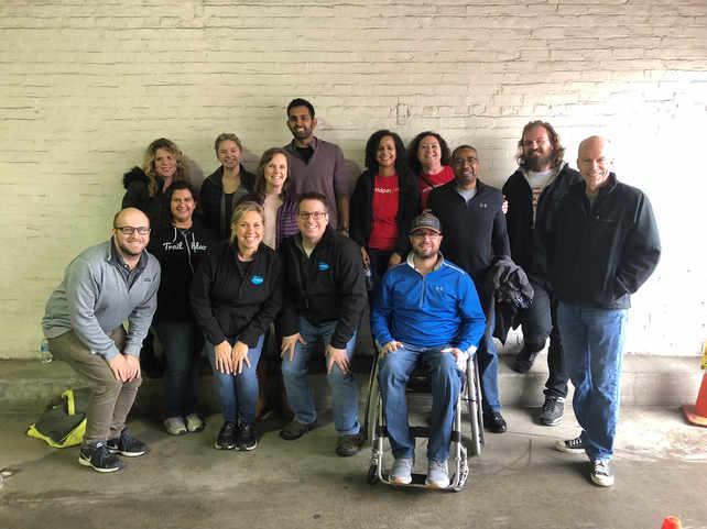 Volunteering with the Freestore Food Bank in OTR