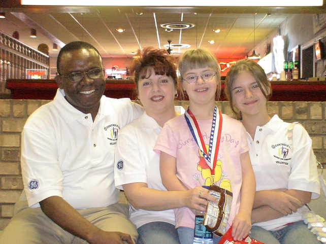 Volunteering with the Special Olympics