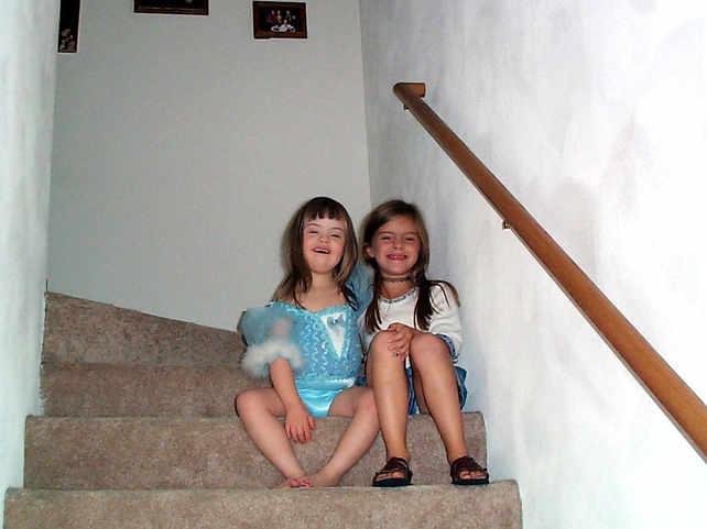 My little sister Gabby & I