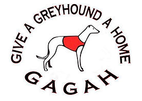 Give A Greyhound A Home Logo