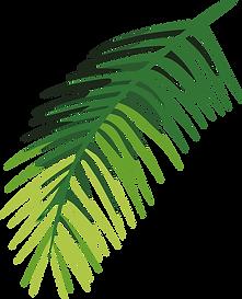 Tropisches Blatt