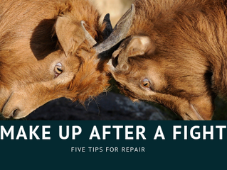 Five Tips for Making Up After a Fight