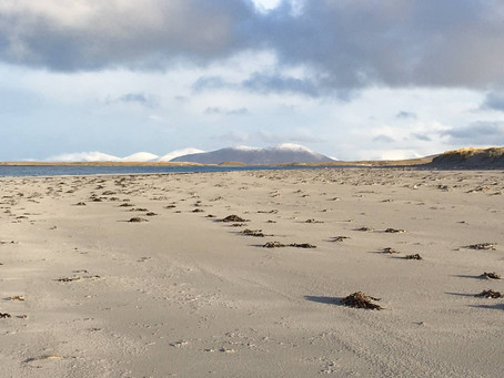 Festive greetings from North Uist