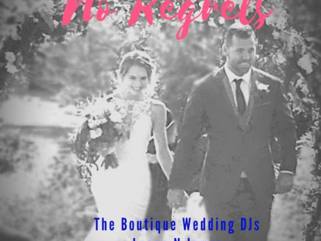 No Regrets or Gamble the Success of the Wedding