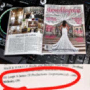 Loops N Jamzz DJs in the Wedding Ring Mag 2020