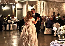Beautiful first dance at Cambridge, Ontario wedding with Loops N Jamzz