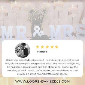 Kitchener-Waterloo Bride Review of Loops
