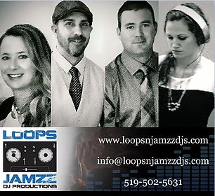 Wedding DJ Team Loops N Jamzz and contact info