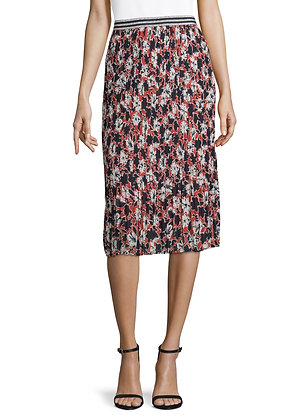 Betty Barclay Floral Pleated Skirt