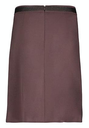 Betty Barclay Mid Length Skirt - Chocolate