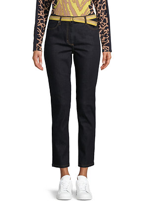 Betty Barclay Slim Black Pants with Belt