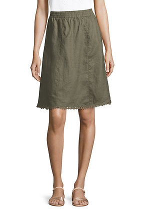 Betty Barclay Olive Skirt