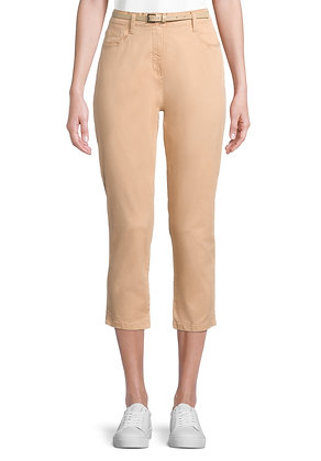 Betty Barclay Cropped Pants - Candied Ginger