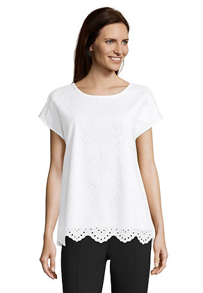 Betty Barclay White Lace Blouse
