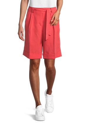 Betty Barclay Tie Shorts - Cayenne
