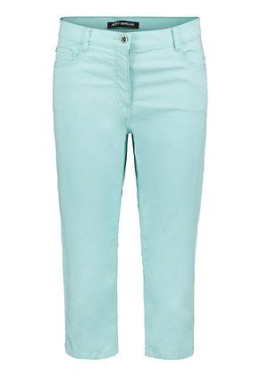 Betty Barclay Cropped Trousers - Light Blue
