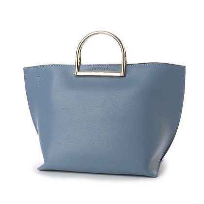 Samantha Thavasa Regaly Tote Bag - Dusty Blue