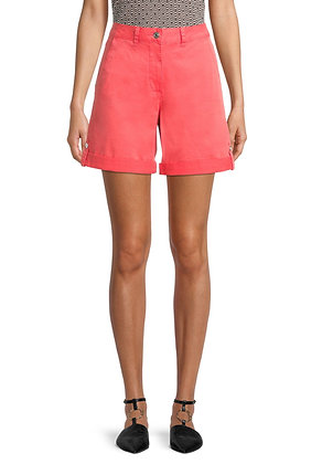 Betty Barclay Cuffed Shorts - Cayenne