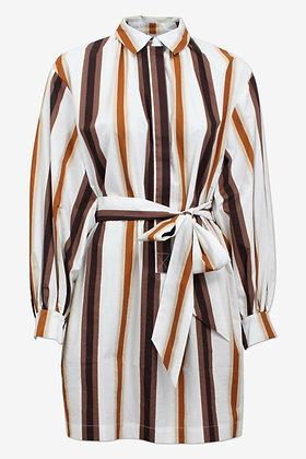 Baum und Pferdgarten Aubree Dress - Brown Stripe