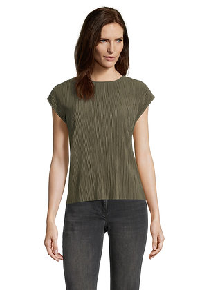 Betty Barclay Pleated Blouse - Olive