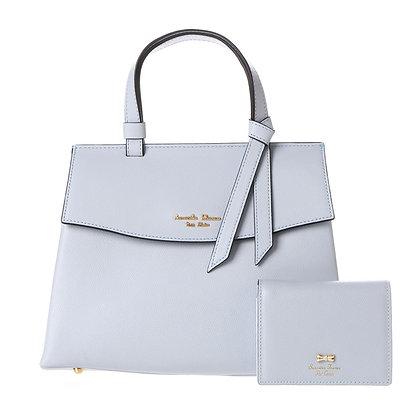 Samantha Thavasa Petit Choic Monica Bag with Mini Wallet - Light Blue