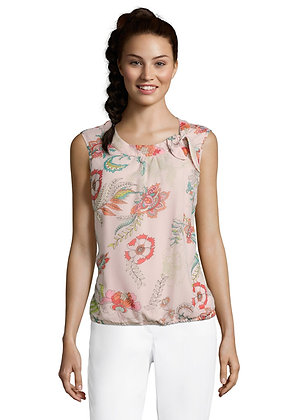 Betty Barclay Floral Sleeveless Blouse