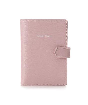 Samantha Thavasa Classic Passport Case - Pink Beige