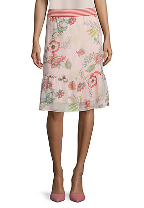 Betty Barclay Floral Skirt