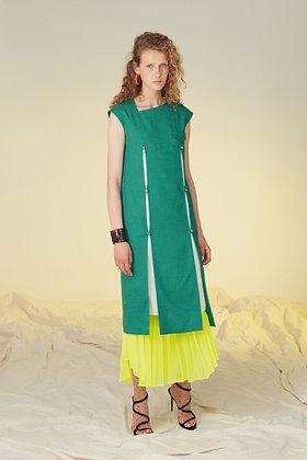 Taro Horiuchi SS20 Slash Detail Dress