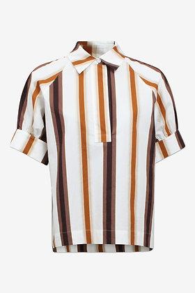 Baum und Pferdgarten Moana Shirt - Brown Stripe