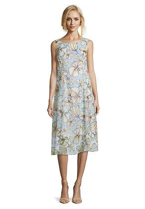 Betty Barclay Floral Print Sleeveless Dress