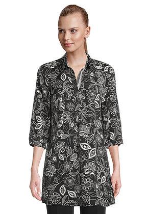 Betty Barclay Black Floral Shirt