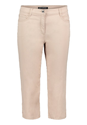 Betty Barclay Cropped Trousers - Latte