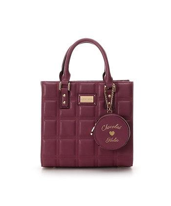 Samantha Vega Chocoholic Small Tote Bag - Pink
