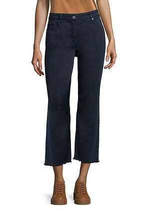 Betty Barclay Cropped Trousers - Dark Sky