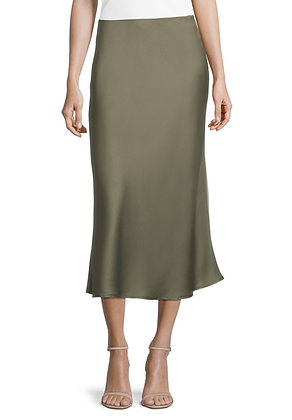 Betty Barclay Slip Skirt - Olive