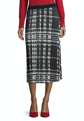 Betty Barclay Printed Pleat Skirt
