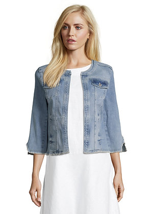 Betty Barclay Denim Crop Jacket