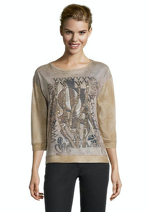 Betty Barclay Embellished 3/4 Sleeve Blouse
