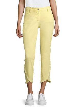 Betty Barclay Slim Trousers - Pale Yellow